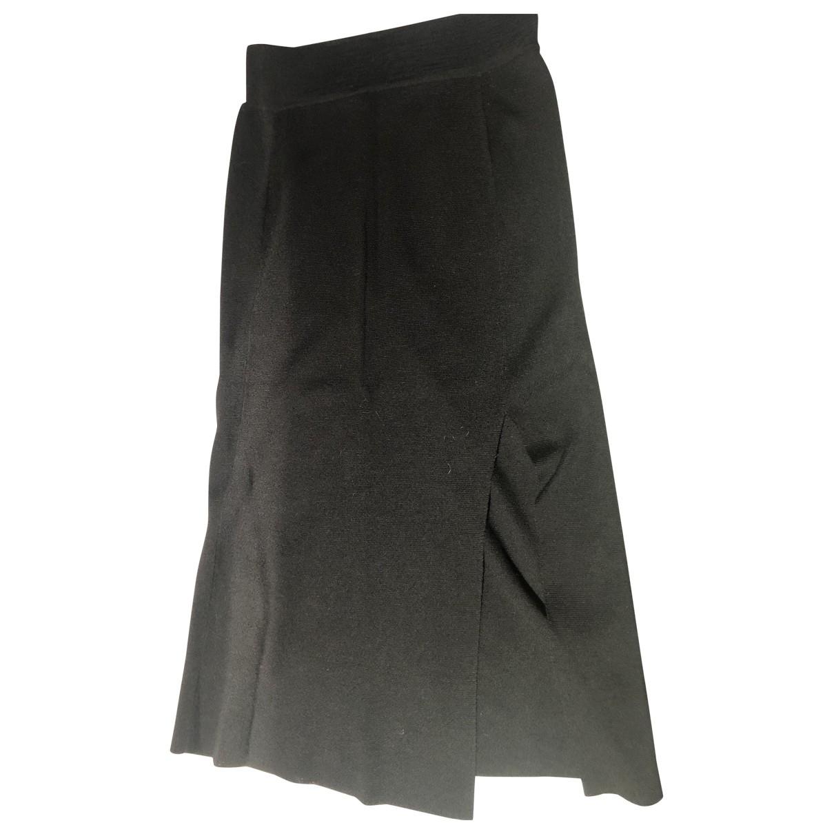 81hours \N Black Wool skirt for Women XS International