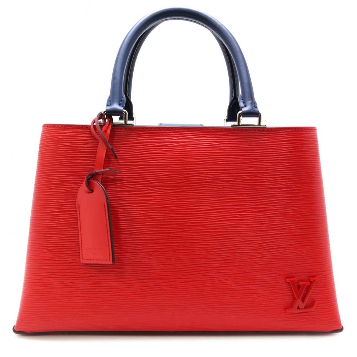 Louis Vuitton - Sac a main Kleber pour femme en cuir - rouge