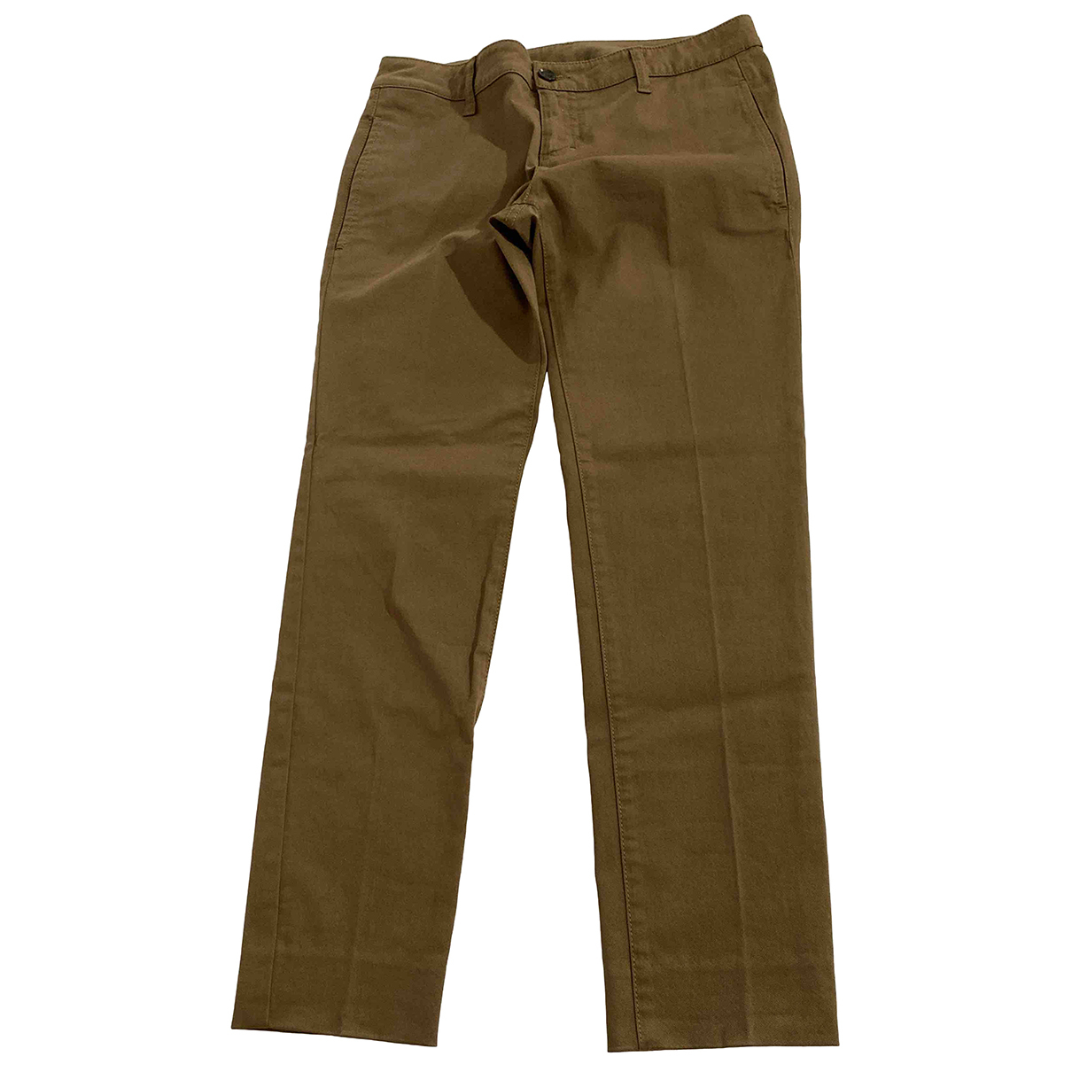 Gucci N Cotton Trousers for Women 38 IT