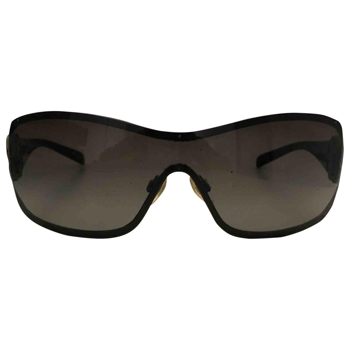 Chanel \N Black Metal Sunglasses for Women \N