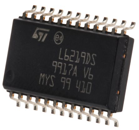 STMicroelectronics E-L6219DS, Stepper Motor Driver IC, 46 V 0.75A 24-Pin, SOIC