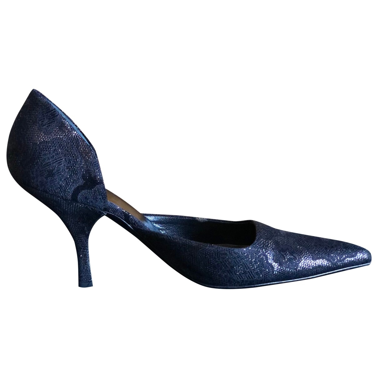 Prada \N Black Cloth Heels for Women 40 EU