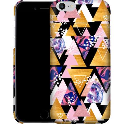 Apple iPhone 6s Plus Smartphone Huelle - Blush Geo Black von Mukta Lata Barua