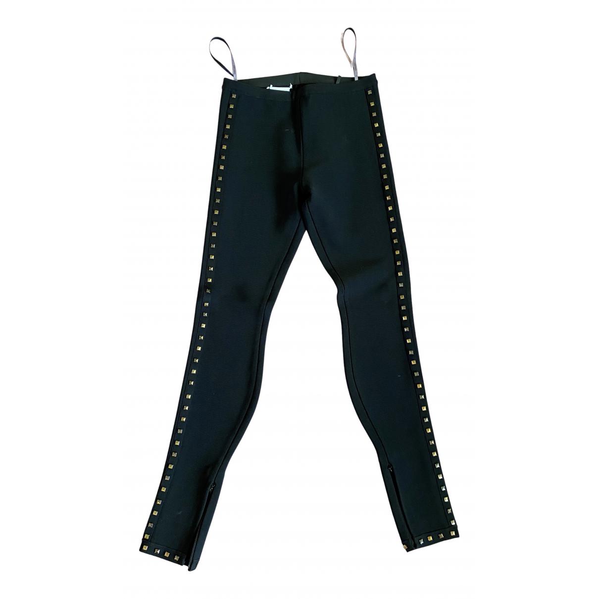Herve Leger N Black Trousers for Women XS International