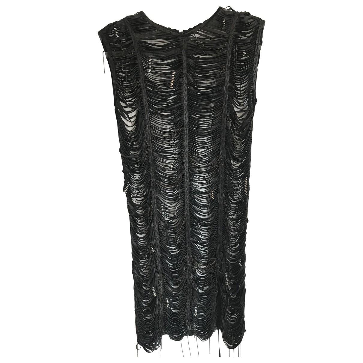 Magda Butrym \N Kleid in  Schwarz Leder
