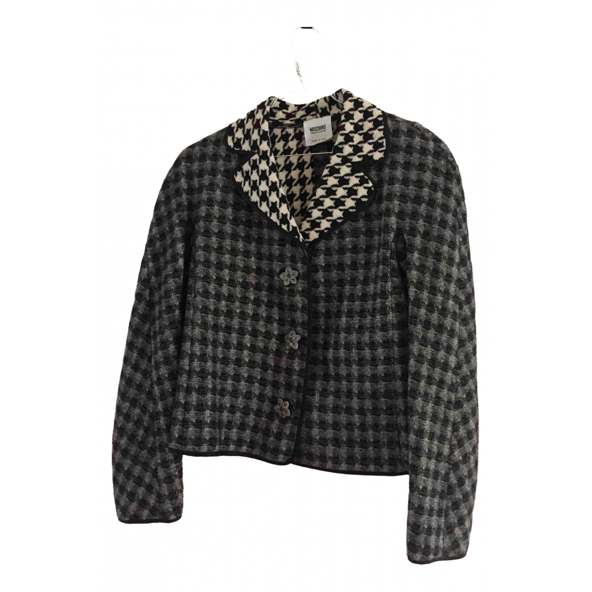 Moschino Cheap And Chic N Grey Wool jacket for Women 38 FR