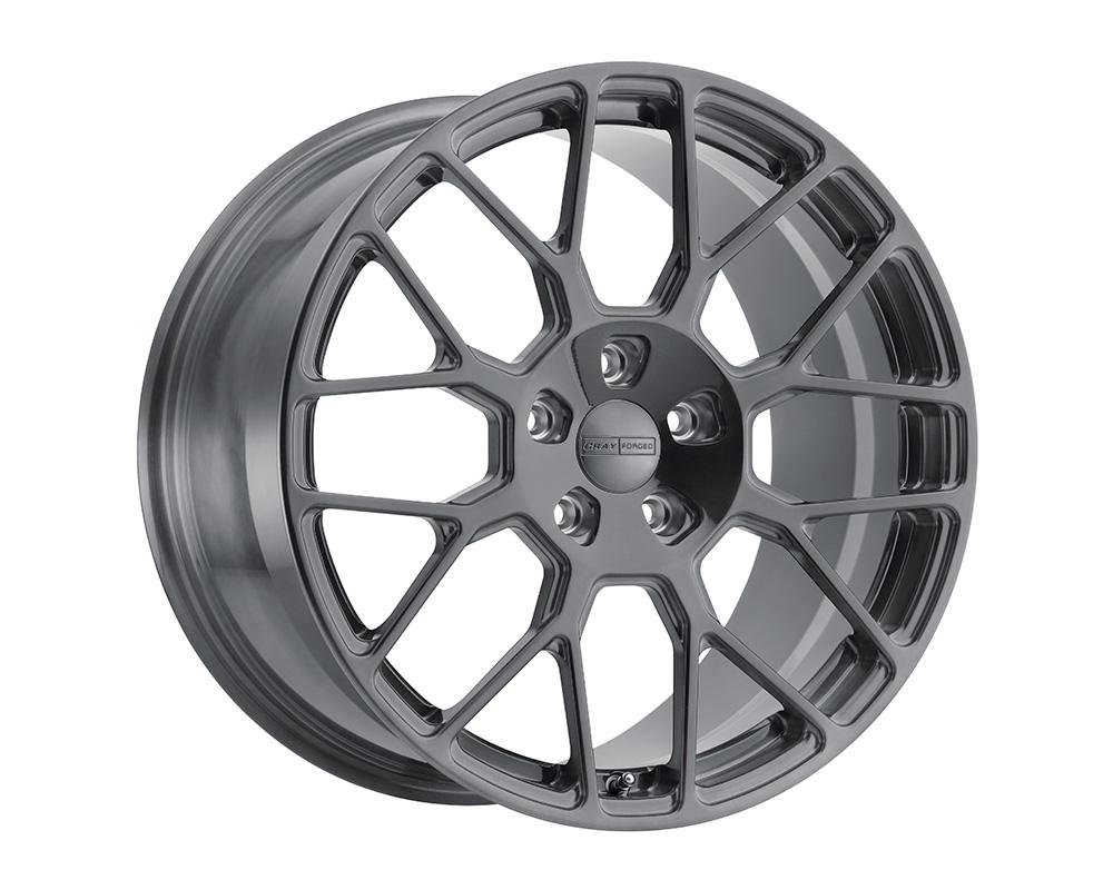 Cray Venom Wheel 19x10 5x120.65 37mm Brushed Gunmetal