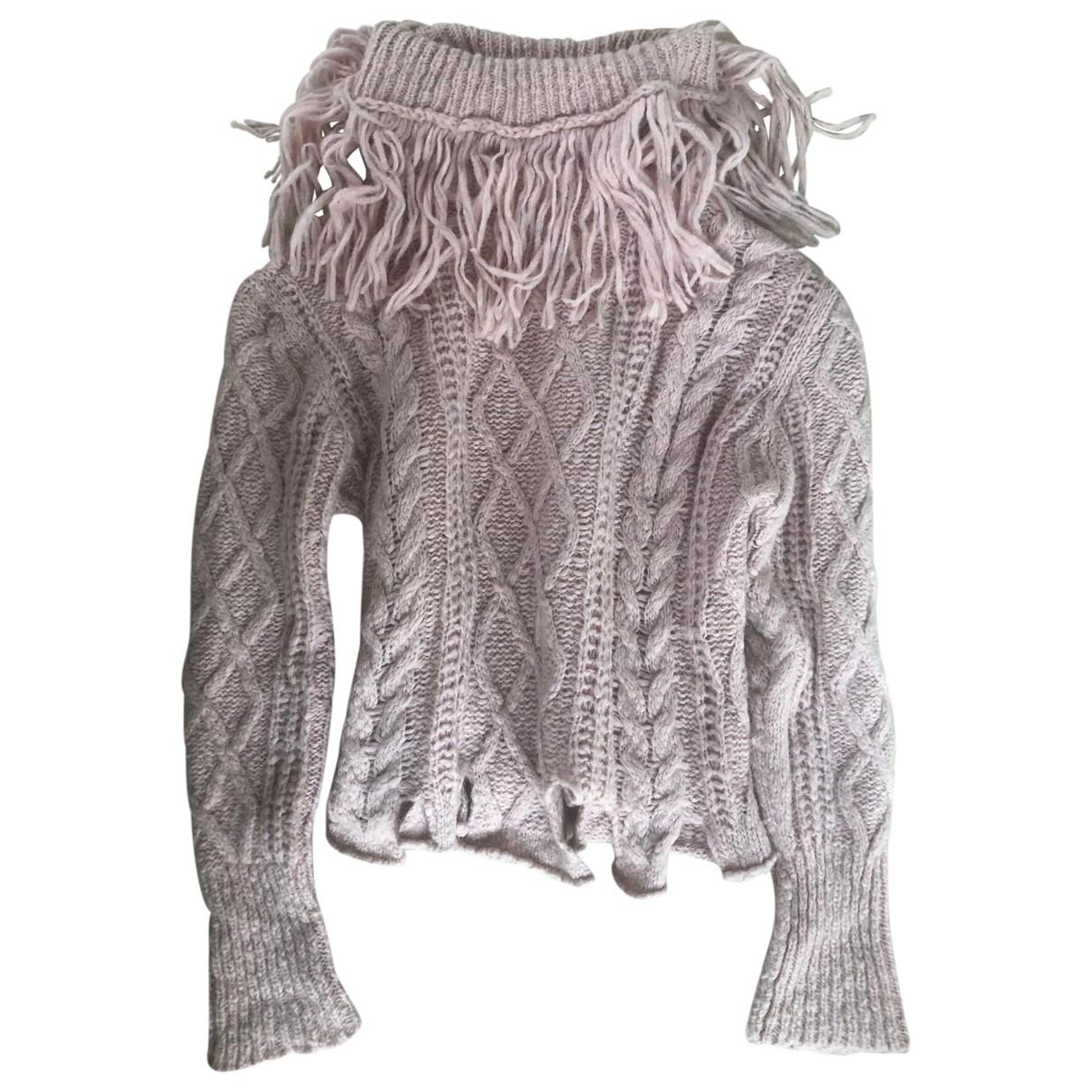 Philosophy Di Lorenzo Serafini - Pull   pour femme en laine - rose