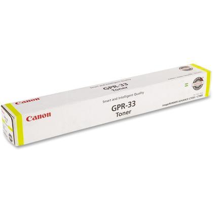 Canon GPR-33Y 2804B003AA Original Yellow Toner Cartridge