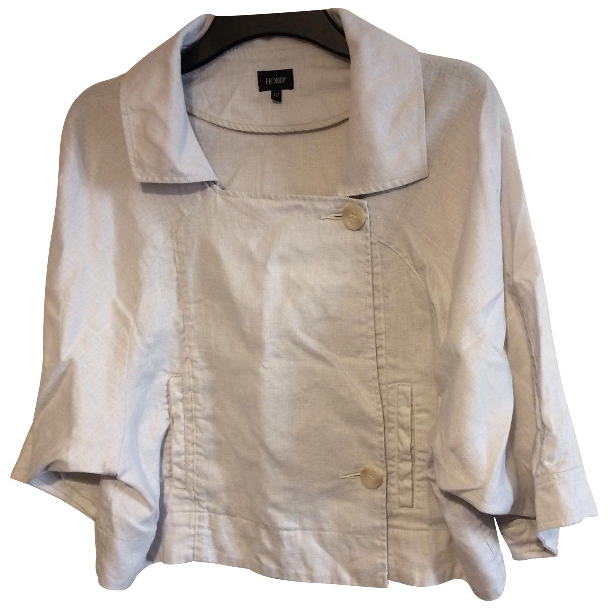 Hobbs - Veste   pour femme en lin - beige