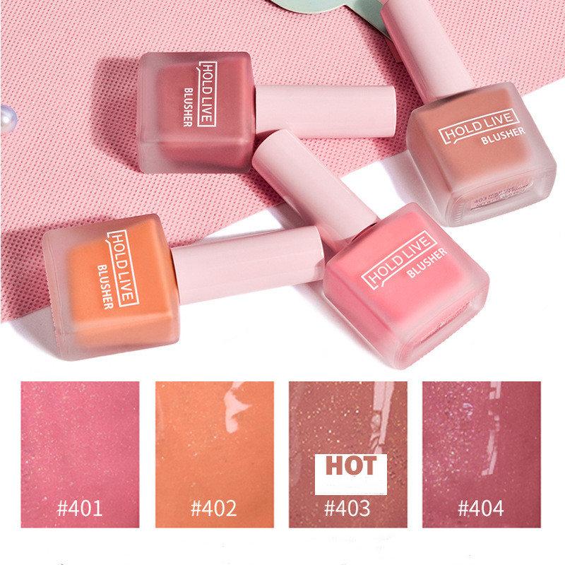 Juice Pearlescent Liquid Blush Lip Cheek Dual-use Moisturizing Lip Gloss Face Makeup Blush
