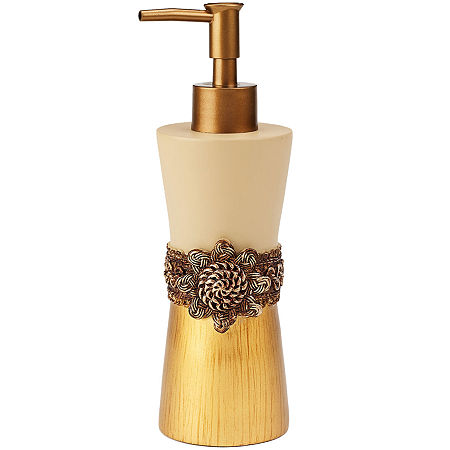 Avanti Braided Medallion Soap/Lotion Dispenser, One Size , Multiple Colors