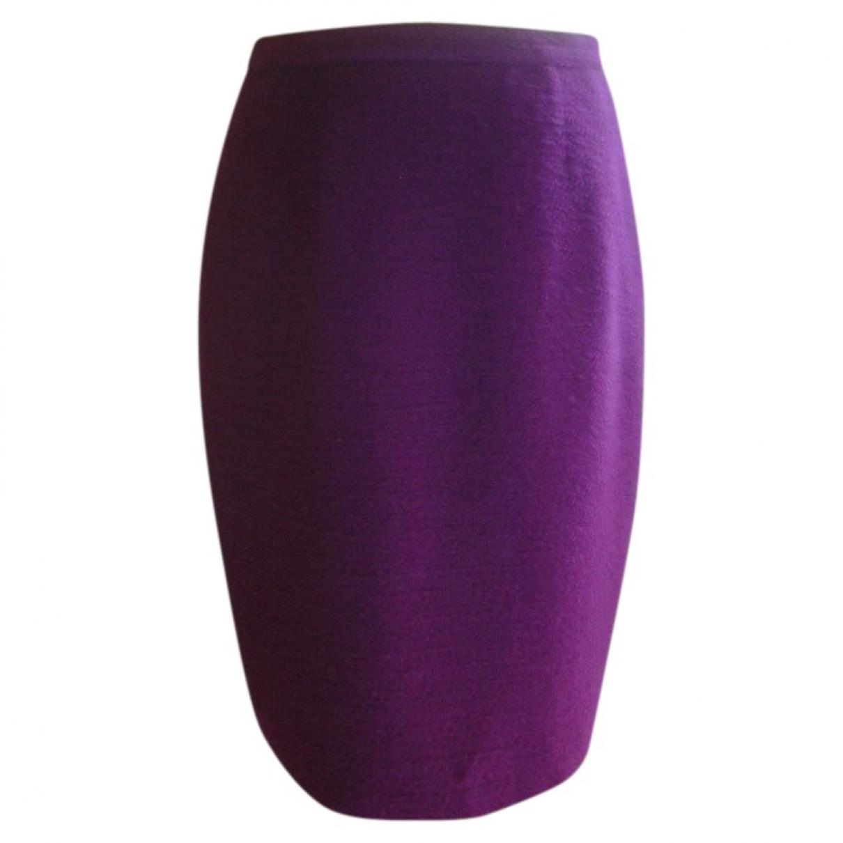 Falda midi de Lana Karl Lagerfeld