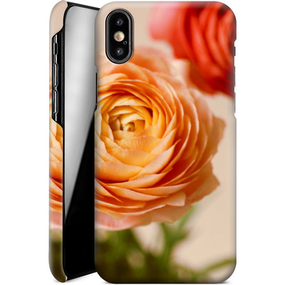 Apple iPhone XS Smartphone Huelle - She Loved Flowers von Joy StClaire