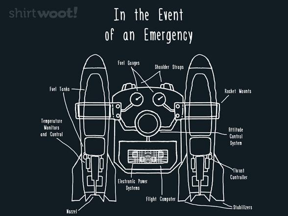 Jetpack Emergency T Shirt