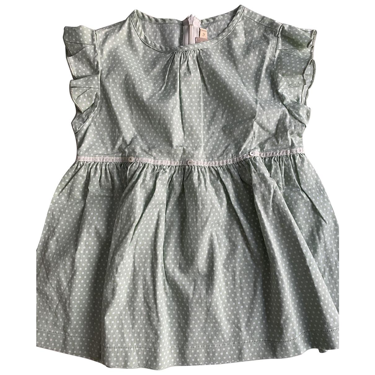 La Stupenderia \N Kleid in  Gruen Baumwolle