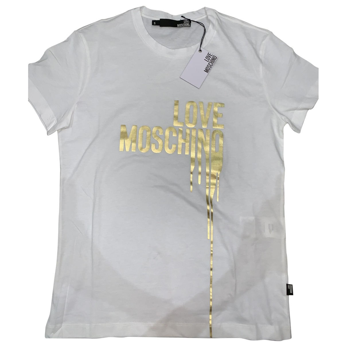 Moschino Love \N T-Shirts in  Weiss Baumwolle