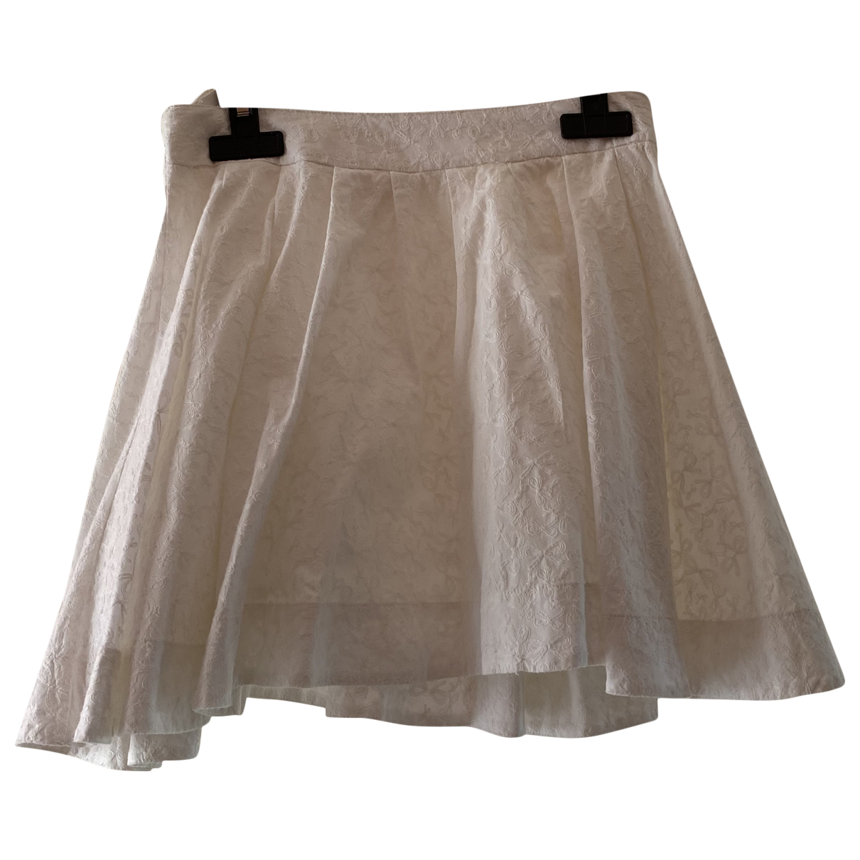 Repetto N White Cotton skirt for Kids 12 years - XS FR