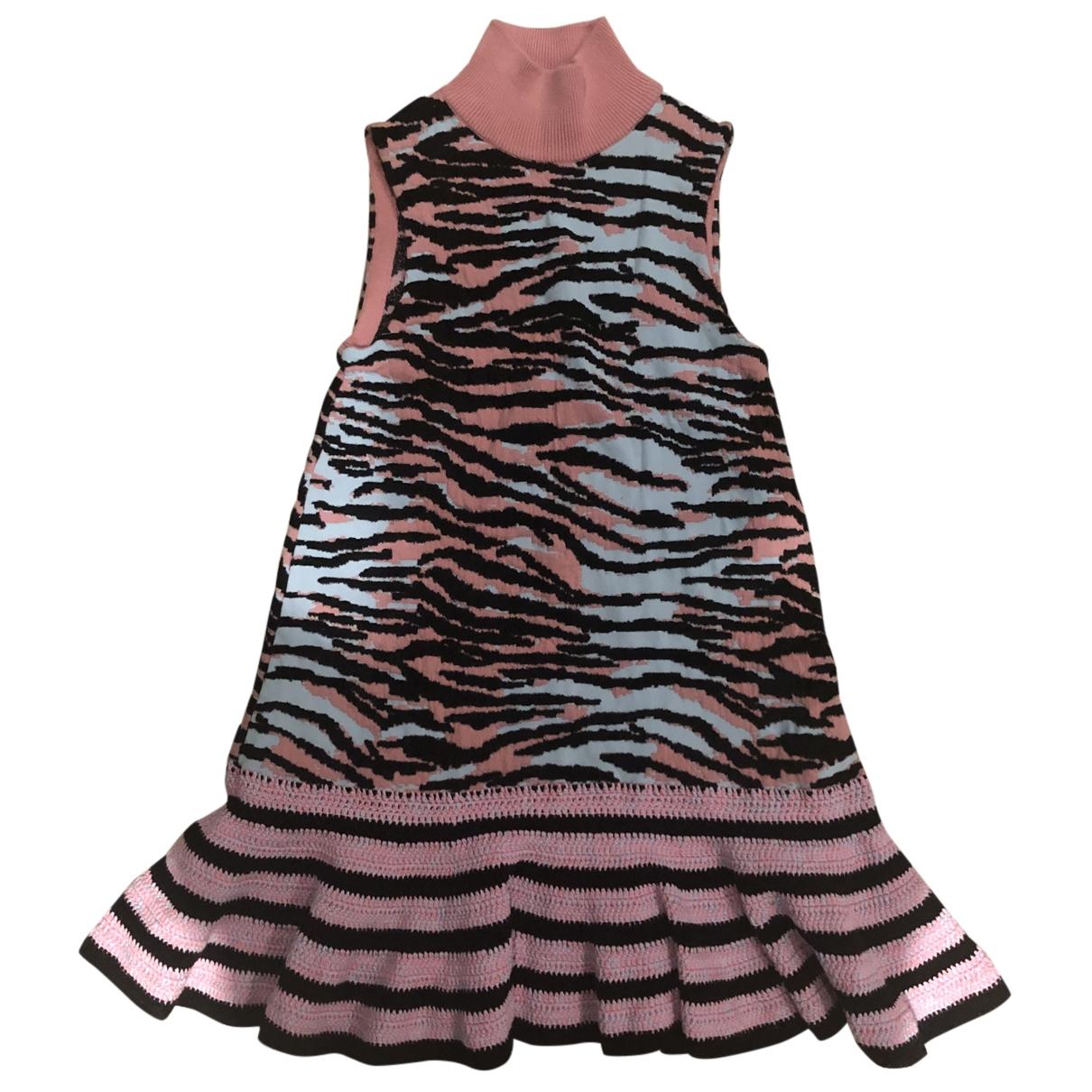 Kenzo X H&m - Robe   pour femme en coton - rose