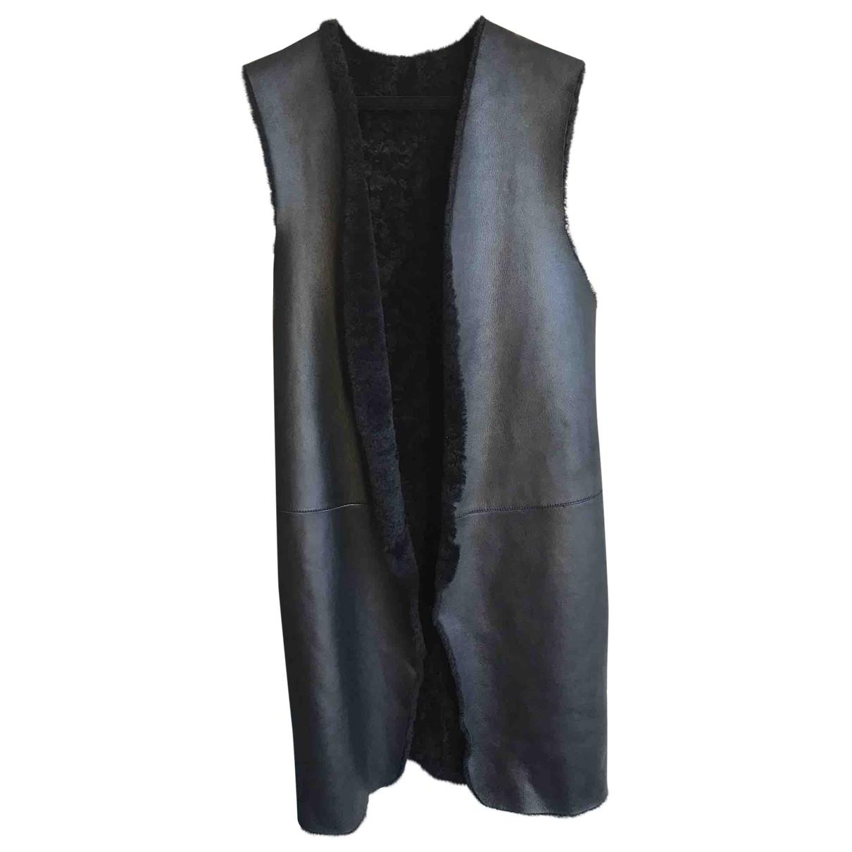Calvin Klein Collection \N Black Mongolian Lamb jacket for Women 38 IT