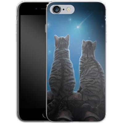 Apple iPhone 6 Plus Silikon Handyhuelle - Wish Upon a Star von Lisa Parker