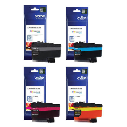 Brother LC3035 Original Ink Cartridge Combo Extra High Yield BK/C/M/Y
