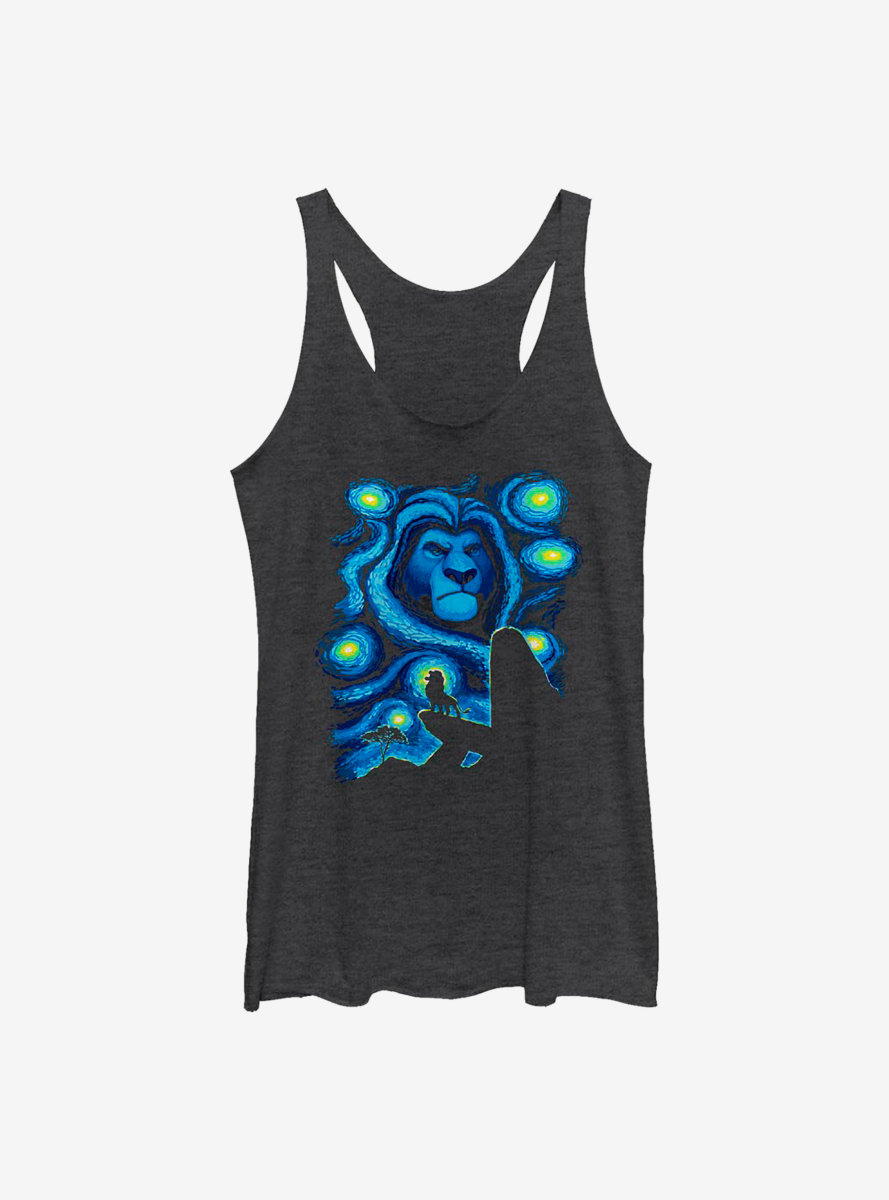 Disney The Lion King Starry Pridelands Womens Tank Top