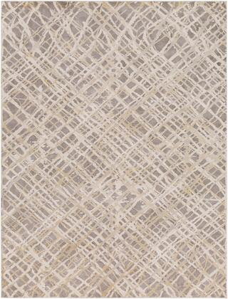 Tibetan TBT-2316 9 x 124 Rectangle Modern Rugs in Charcoal  Taupe  Khaki  Medium Gray