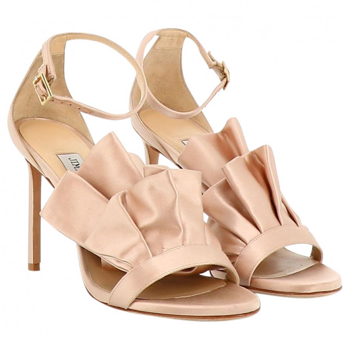 Jimmy Choo \N Pink Sandals for Women 39 EU