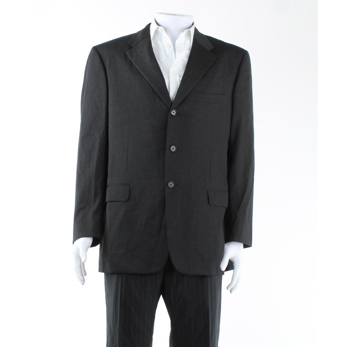 Autre Marque \N Grey Wool jacket  for Men 54 IT