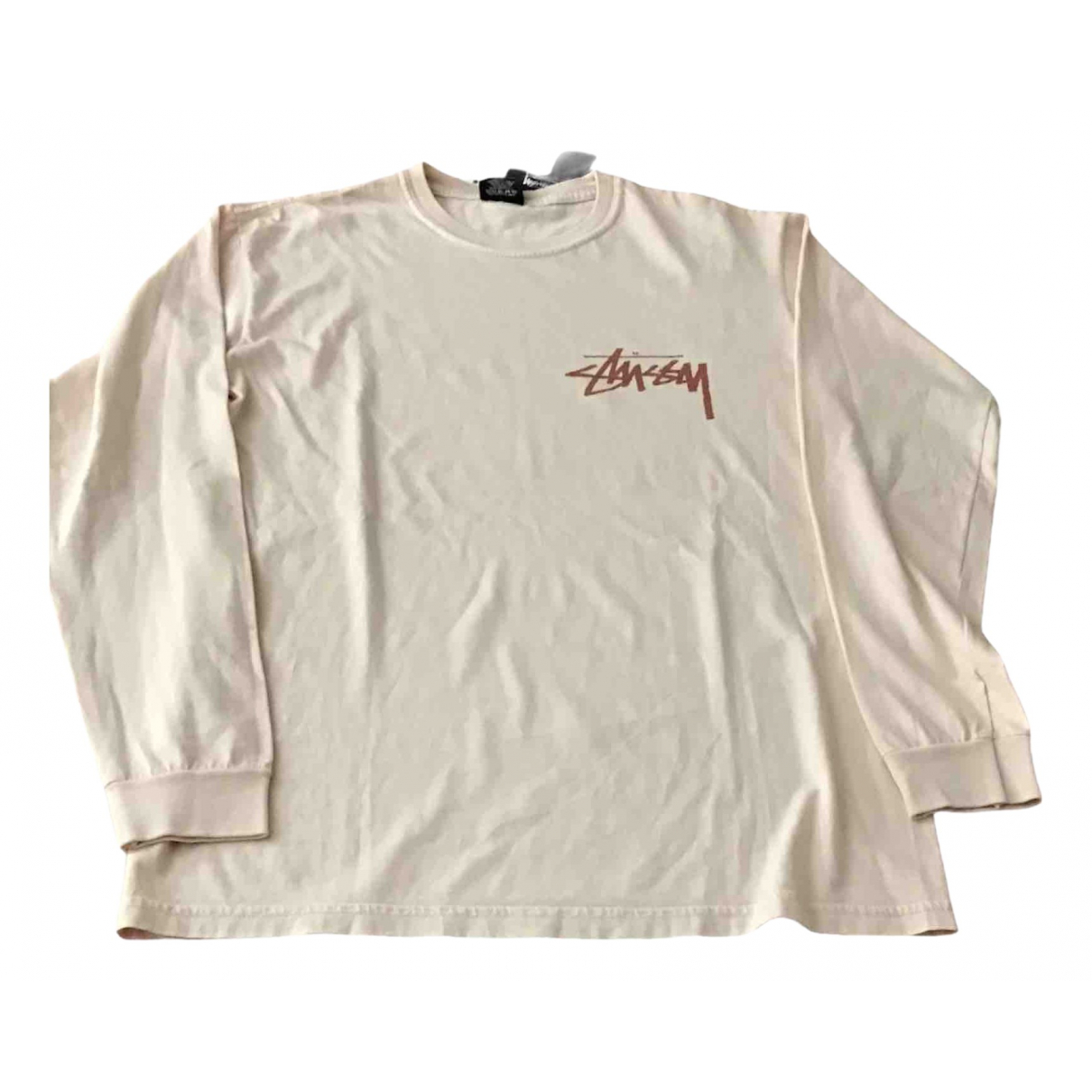 Stussy \N T-Shirts in  Rosa Baumwolle