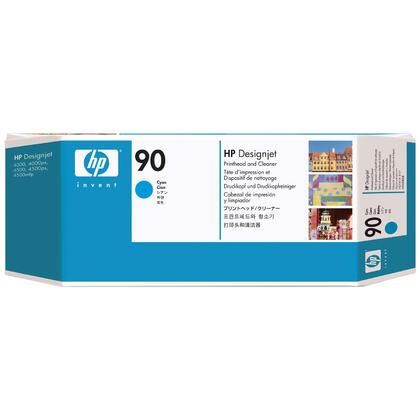 HP 90 C5055A Original Cyan Printhead & Cleaner