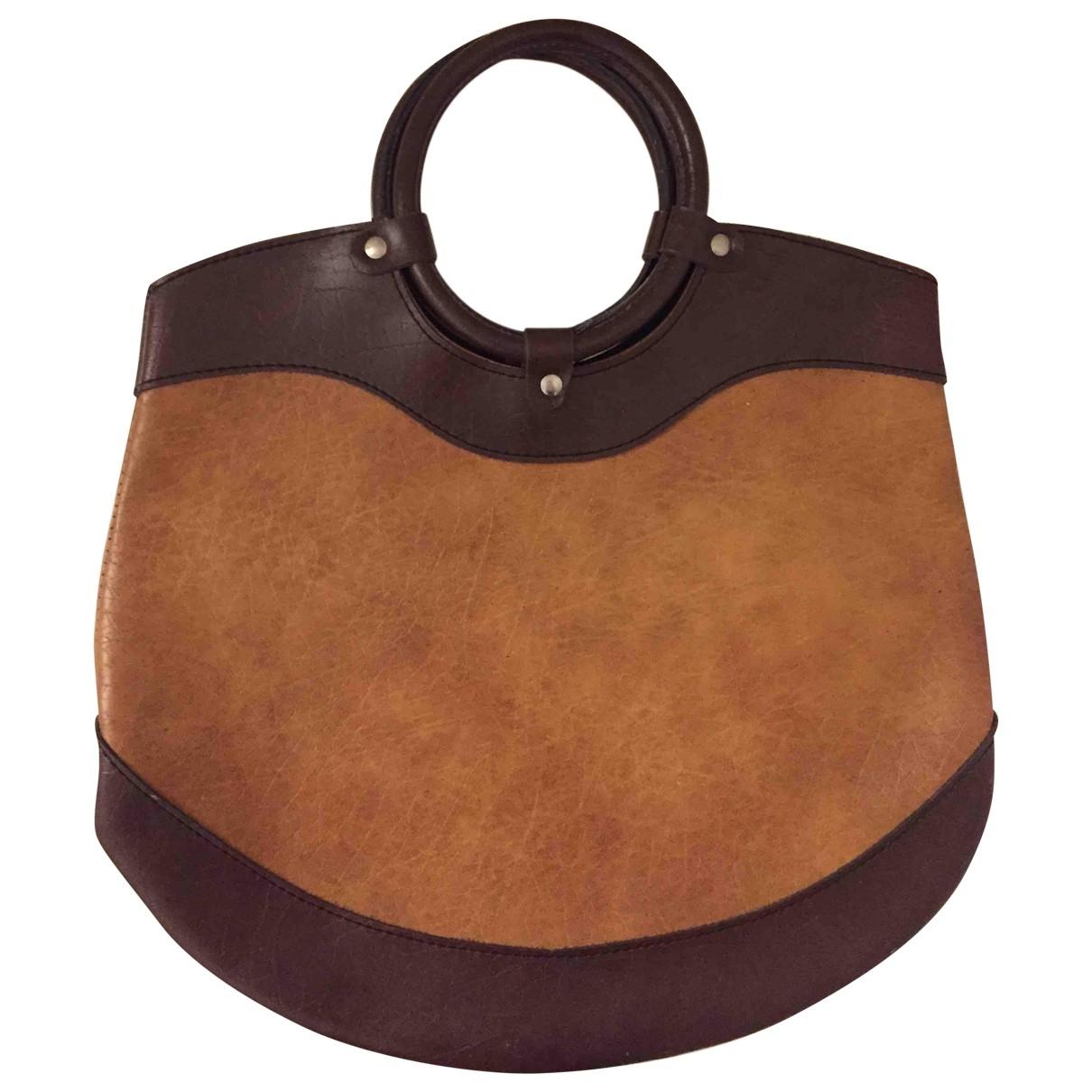 Non Signe / Unsigned \N Handtasche in  Braun Synthetik