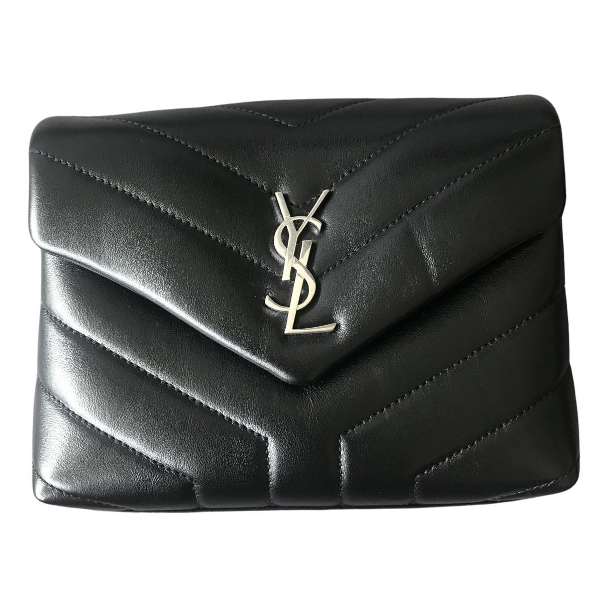 Saint Laurent Loulou Black Leather handbag for Women \N