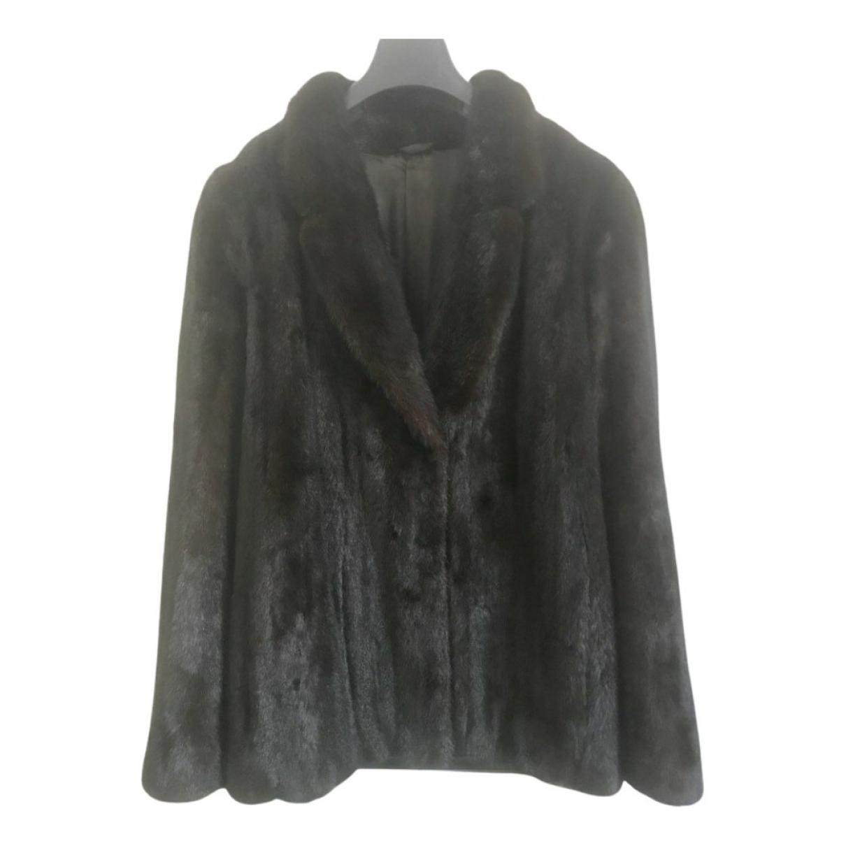 Saks Fifth Avenue Collection - Veste   pour femme en vison - marron