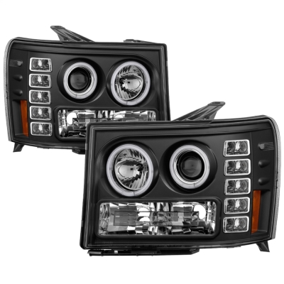 Spyder Auto Group CCFL LED Projector Headlights (Black) - 5030184