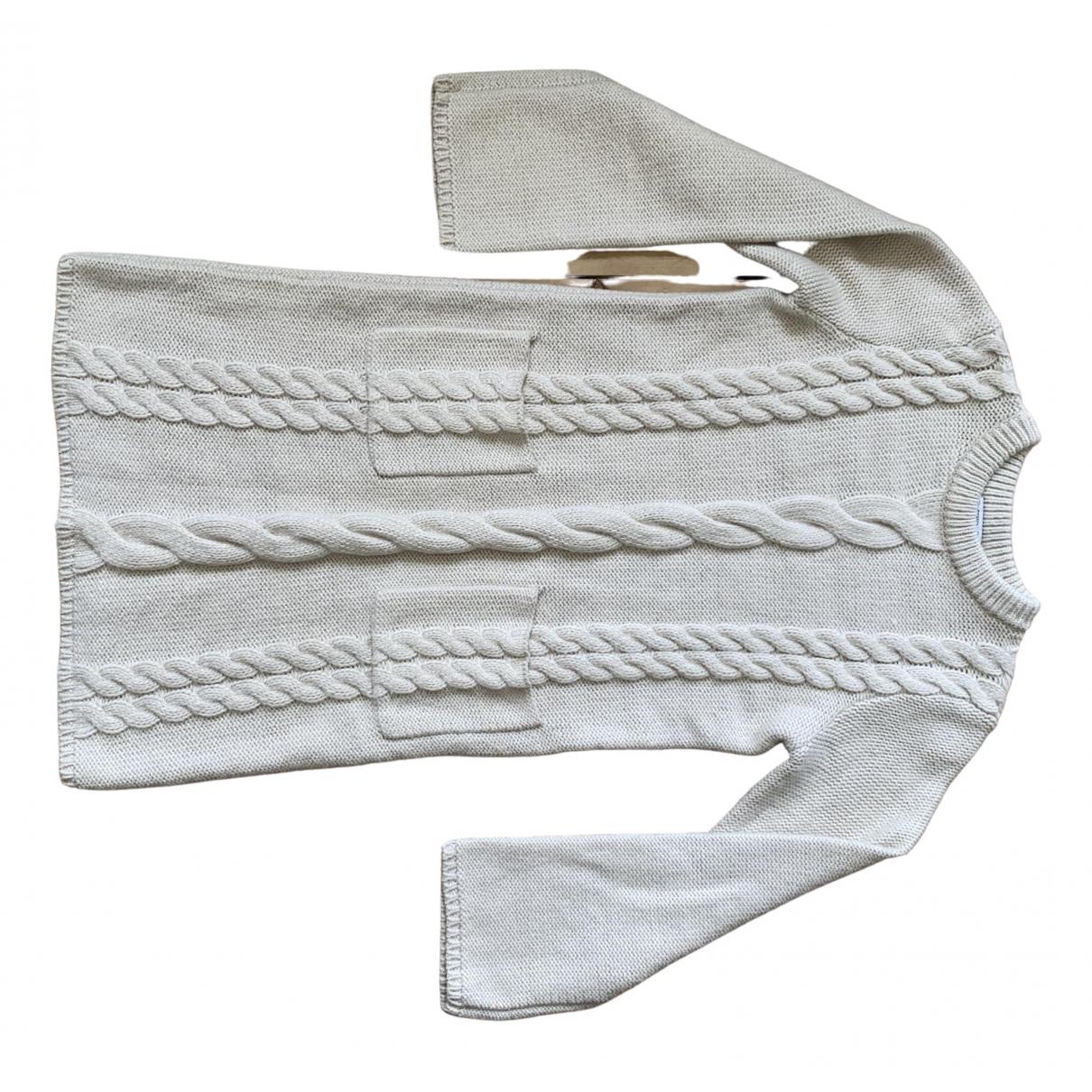 Uniqlo - Robe   pour femme - ecru