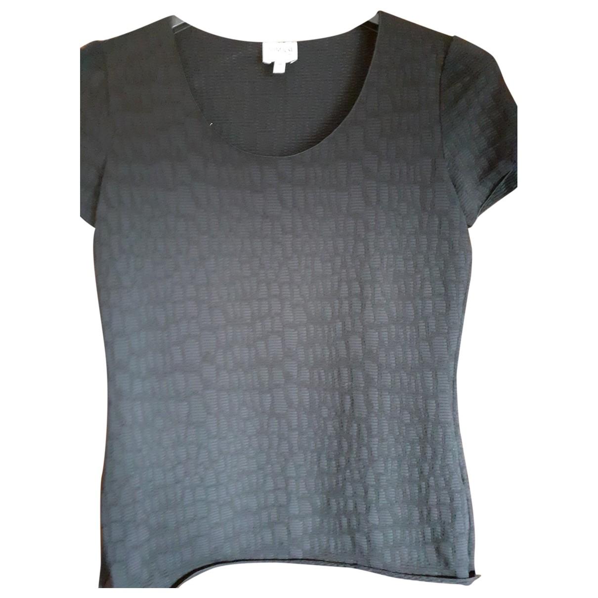 Armani Collezioni \N Black Cotton  top for Women 38 FR