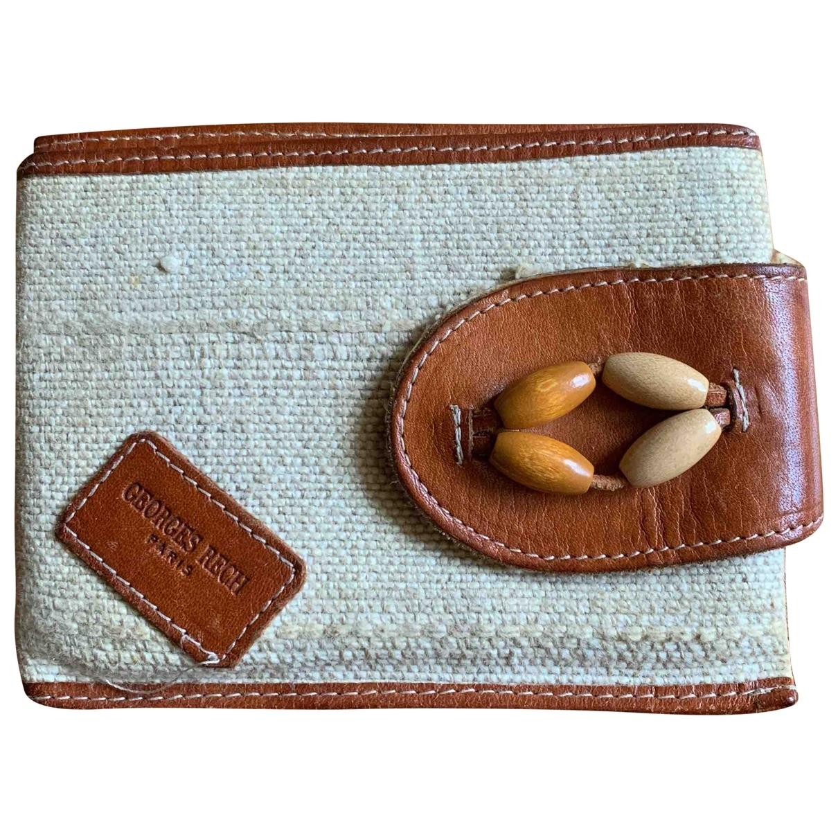 Georges Rech \N Beige wallet for Women \N
