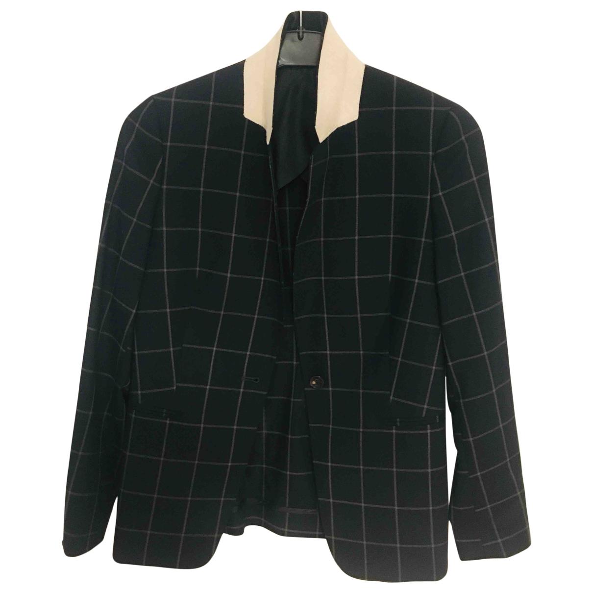 Paul Smith - Veste   pour femme en laine - bleu
