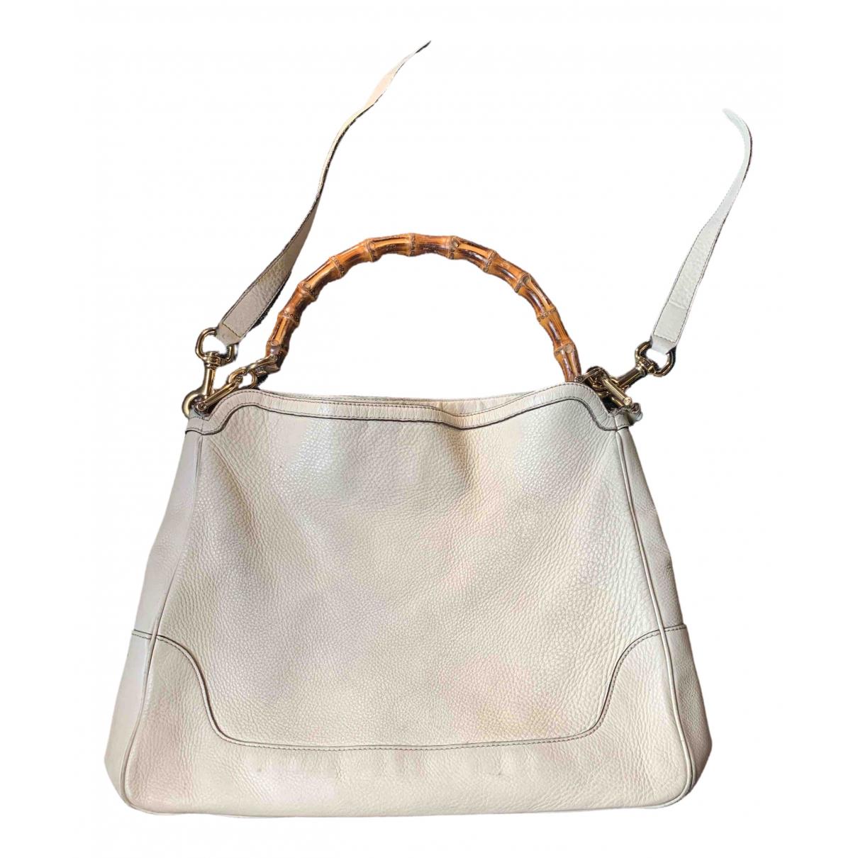 Gucci Bamboo Leather handbag for Women \N