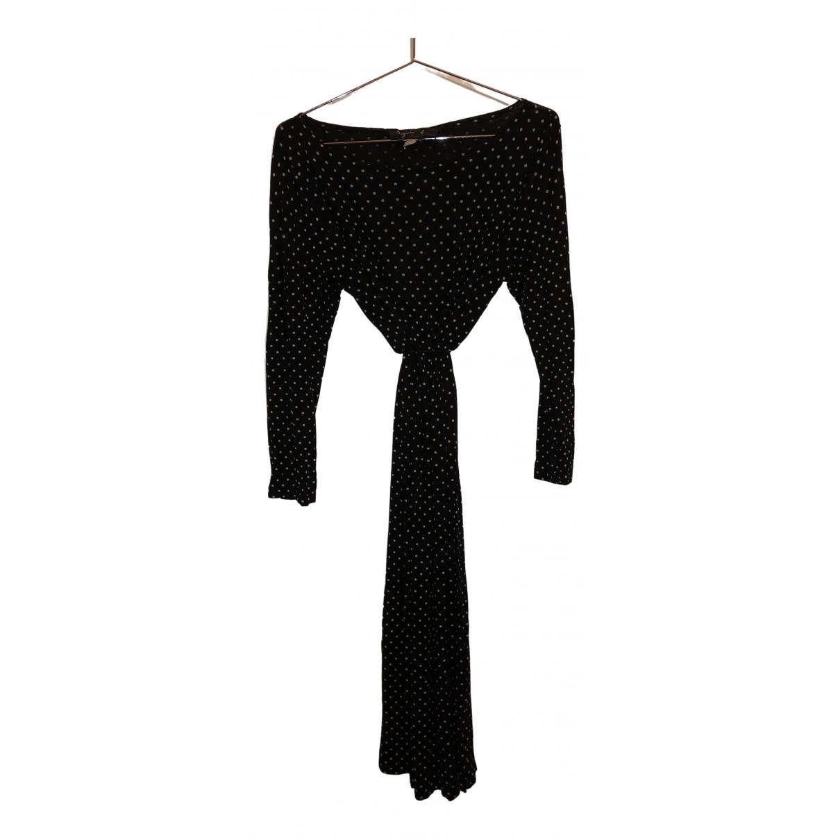 Agnes B. - Robe   pour femme en coton - elasthane - noir