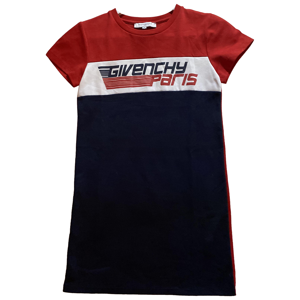 Givenchy N Red Cotton dress for Kids 10 years - up to 142cm FR