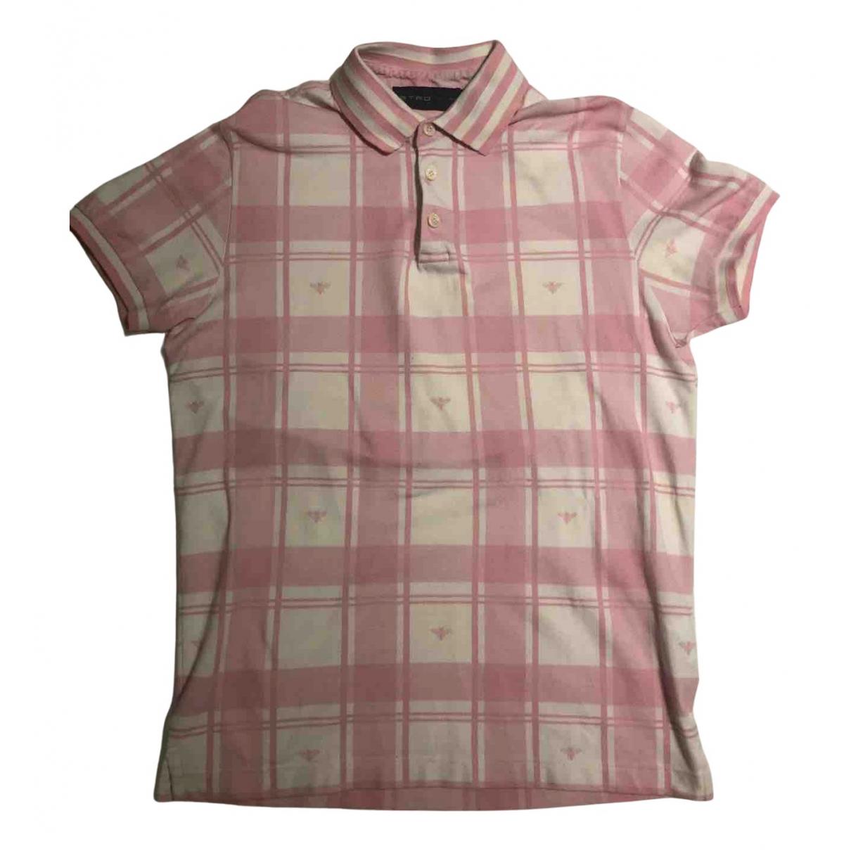 Etro \N Poloshirts in  Rosa Baumwolle