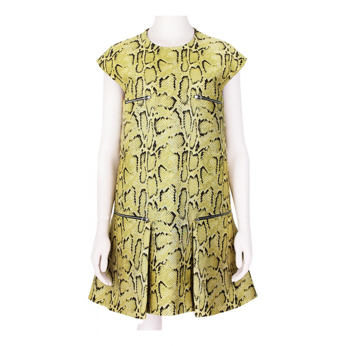 Stella Mccartney \N Kleid in  Gelb Polyester