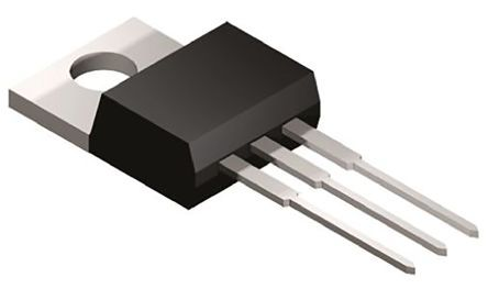 STMicroelectronics BTB24-600CWRG 25A, 600V, TRIAC, Gate Trigger 1.3V 35mA, 3-pin, Through Hole, TO-220AB (5)