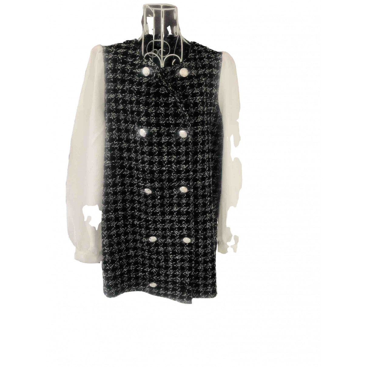 Abrigo Tweed Non Signe / Unsigned
