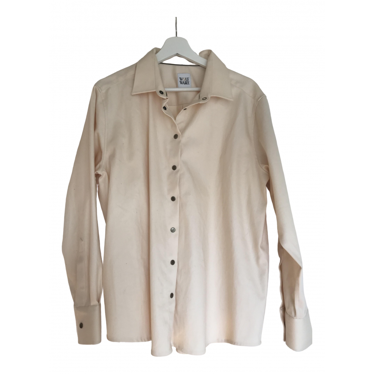 Non Signé / Unsigned \N Beige Cotton  top for Women M International