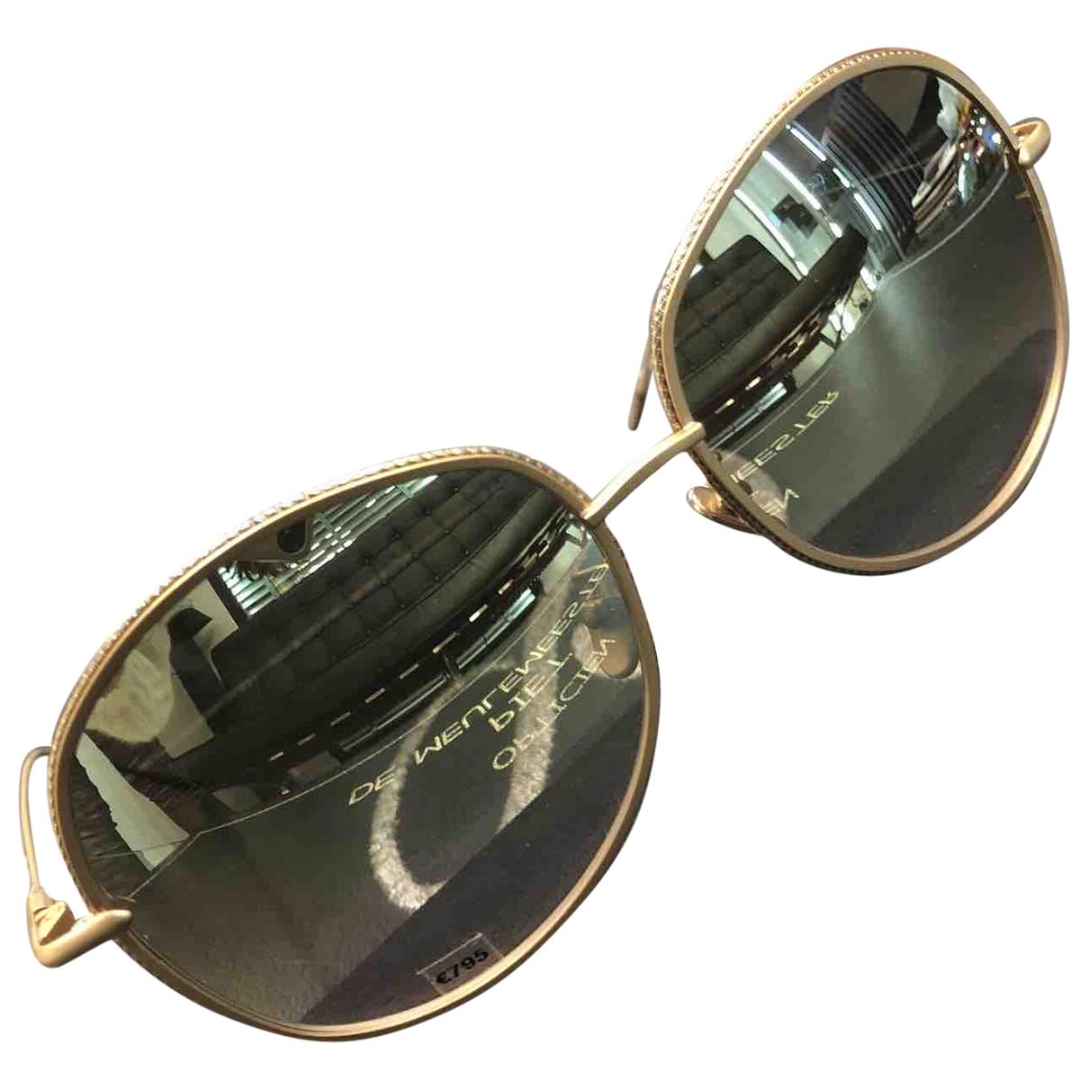 Frency & Mercury \N Gold Metal Sunglasses for Women \N