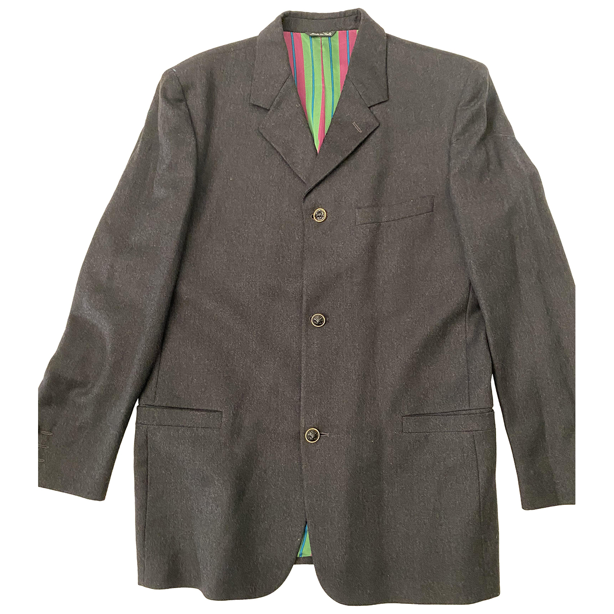 Versus N Grey Wool jacket  for Men 50 IT